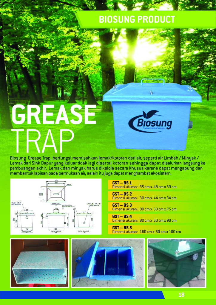 Grease Trap Terbaik