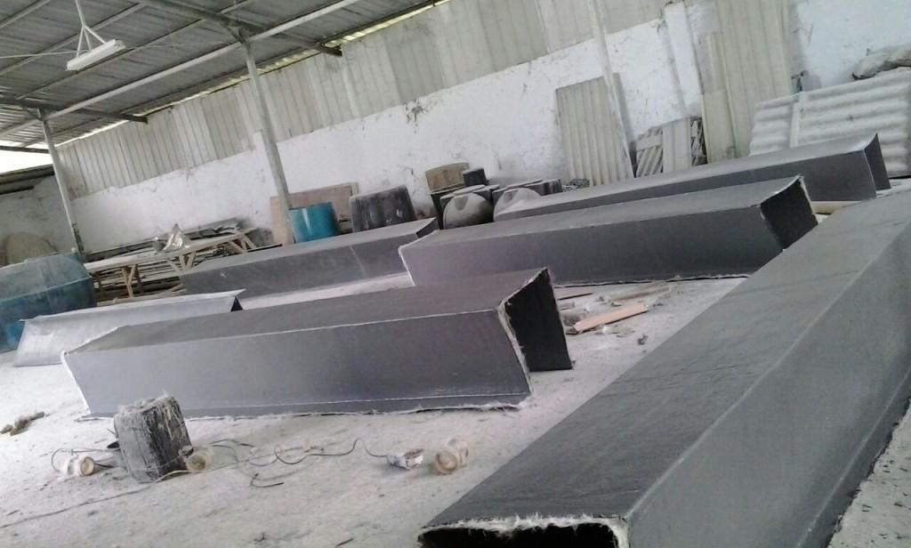 Proses Pembuatan Talang Air